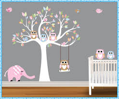Tree Decals For Walls Nursery by Tree Decals For Walls Home Decorations Ideas