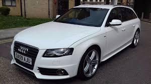 audi a4 avant automatic 59 plate audi a4 avant s line diesel 2 0 tdi manual estate in