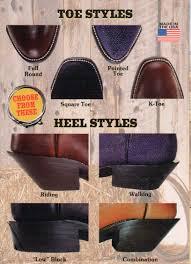 cowboy boot toes u0026 heels