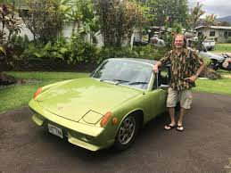 old porsche 914 do it yourself kailua man converts porsche to an all electric