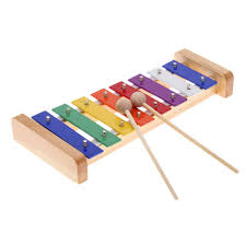 amazon com andoer wood pine xylophone percussion musical toy with