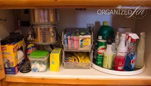 the kitchen sink cabinet organization the sink organization kitchen series 2013 pretty