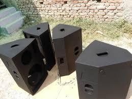 empty plastic speaker cabinets speaker monitor la speaker monitor eaw 215 manufacturer from new delhi