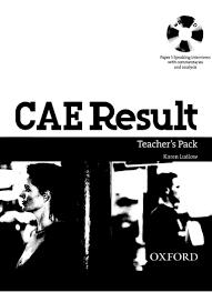 cae result teacher u0027s book
