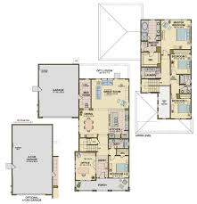 4 car garage size wildhawk landing plan three