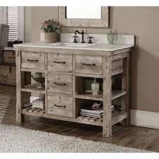 48 White Bathroom Vanity White Bathroom Vanities U0026 Vanity Cabinets Shop The Best Deals