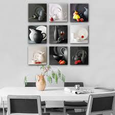 free shipping hd oil painting kettle and tableware series painting