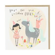 best birthday cards birthday unicorn birthday card