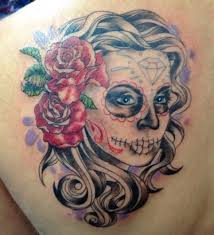 45 gorgeous day of the dead tattoos tattoodo