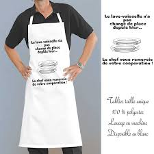 tablier homme cuisine tablier de cuisine homme pas cher galerie avec tablier de cuisine
