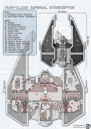 ship floor plans fury class imperial interceptor by danielhasenbos concept art