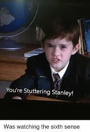Stanley Meme - you re stuttering stanley the office meme on esmemes com