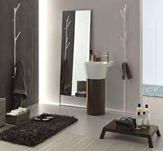 stone grey modern double sink design element bathroom vanities