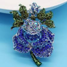 very beautiful rose flower wedding brooches bouquet for unusual
