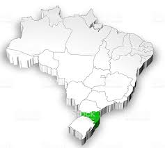 Map With States by Brazilian Map With States Separated Stock Photo 635935038 Istock