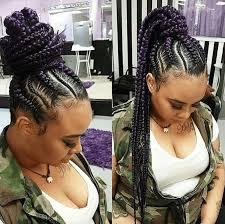 up do jumbo cornrow braids are hairstyle sensation in