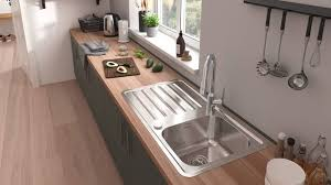 metal kitchen sink and cabinet combo innovation from hansgrohe stainless steel kitchen sink