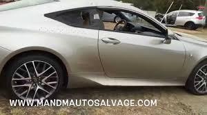 lexus rcf sport for sale 2015 lexus rc350 f sport salvage cars m u0026 m ruckersville virginia