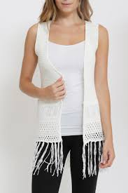 boho crochet andrea boho crochet vest from california by yuni shoptiques