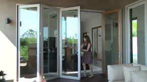 Interior Folding Glass Doors Decor Open Space Design With Lacantina Doors Citycollegeinc