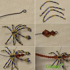 make the of the bead scorpion ornament spiders