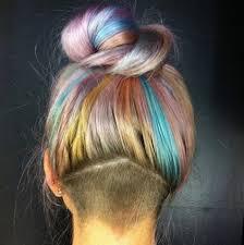 rainbow color hair ideas rainbow many color pastel hair color latest hair styles cute