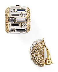 s clip on earrings women s designer clip on earrings bloomingdale s