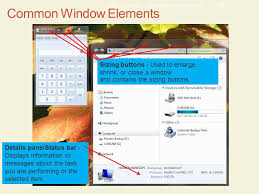 Windows 7 Top Bar Chapter 7 Exploring Microsoft Windows 7 Learning Objectives
