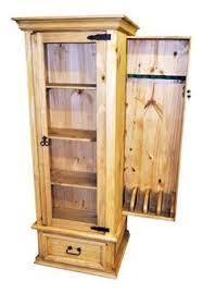gun curio cabinet rustic furniture great western furniture co