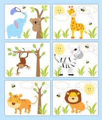 Jungle Nursery Wall Decor Safari Nursery Wall Decor Palmyralibraryorg Safari Jungle Nursery