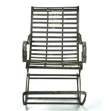 Metal Patio Rocking Chairs Metal Rocking Chairs Simple Metal Outdoor Rocking Chairs On Small