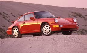 pink convertible porsche 1990 porsche 911 carrera 4 archived road test u2013 review u2013 car and