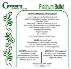 Sample Buffet Menus by 16 Banquet Menu Templates Psd Pdf
