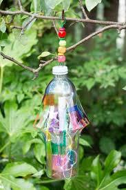 Garden Crafts For Children - diy garden lantern from a plastic bottle garden lanterns
