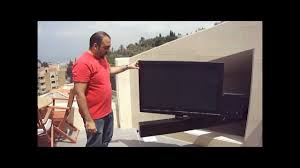 tv bracket slide out and rotate by martontechnologies lebanon
