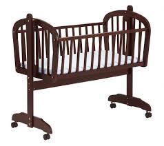 Espresso Baby Crib by Wooden Baby Bed Interiors Design