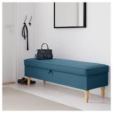 ikea bench stocksund bench ljungen blue light brown ikea