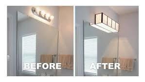Light Fixture Cover Light Fixture Upgrade On A Budget Hometalk