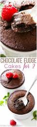 two chocolate fudge cakes recipe