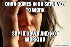Not Working Meme - sap not working meme not best of the funny meme