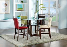 glass top dining room set dining room set