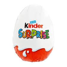 kinder suprise egg kinder egg chocolate shell 0 from redmart