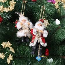 santa claus doll tree ornaments