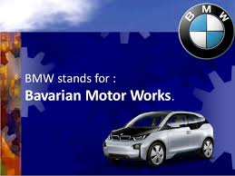 what is bmw stand for facts about bmw