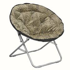Tmnt Saucer Chair Bedroom Ideas Cool Leopard Faux Fur Saucer Chair For Kid Bedroom