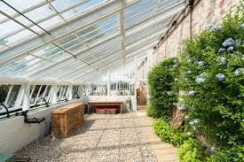 Green House Kitchen by Rescued From Ruin A 19th Century Greenhouse Becomes A Modern