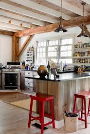 Cooktop Kitchen Good Looking Saddle Stools In Kitchen Eclectic With Corner Range