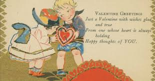 vintage valentines adorable vintage s day cards to the new york