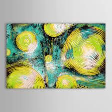 Living Room Art Sets Hand Painted Art Set Impressionist Colorful World Landscape