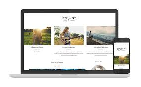 byeony personal blogger template responsive elegant and beautiful